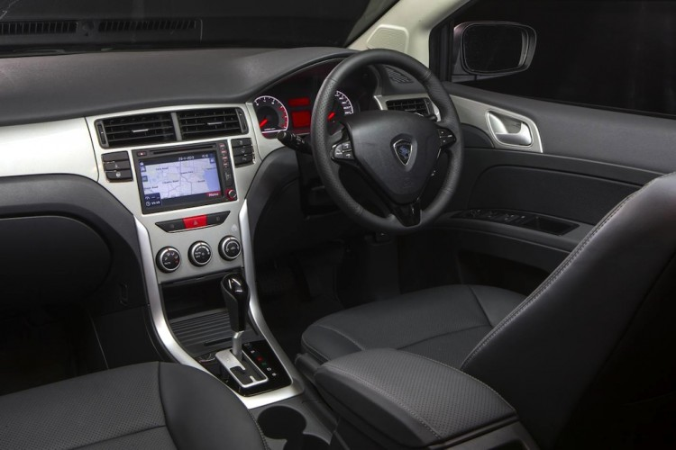The interior of the Proton Suprima S is impressive