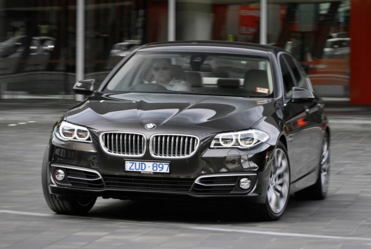 The BMW 520d rides and handles beautifully