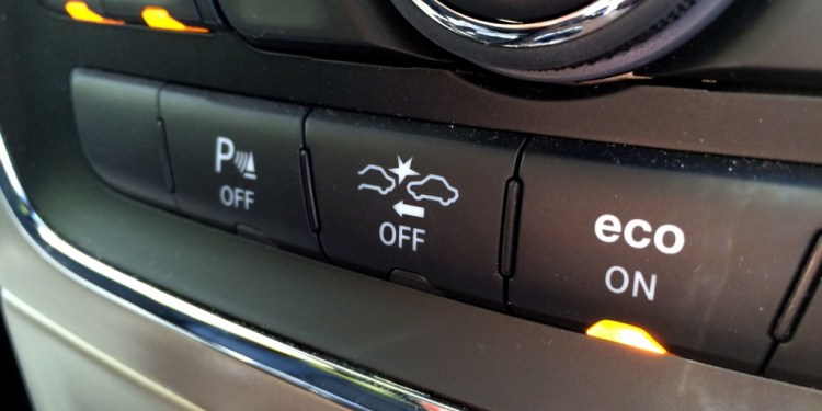 Our Jeep Grand Cherokee's Forward Collision Warning seems a little too sensitive