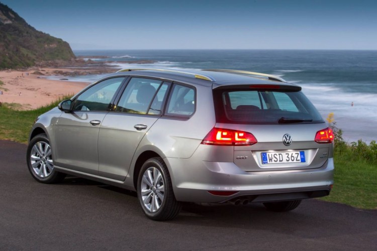 The new Volkswagen Golf Wagon is more practical than the Golf hatch.