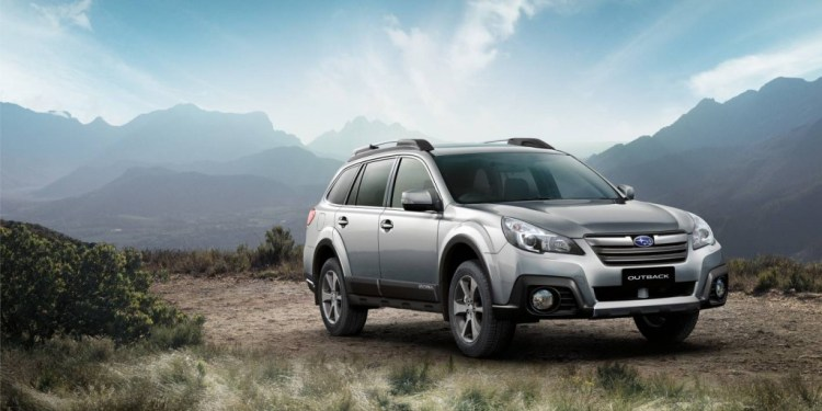 The new Subaru Outback