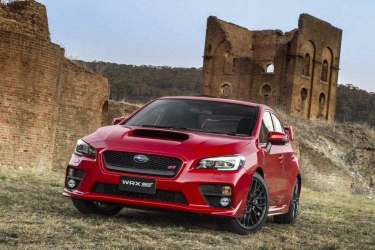 This is the new WRX STi