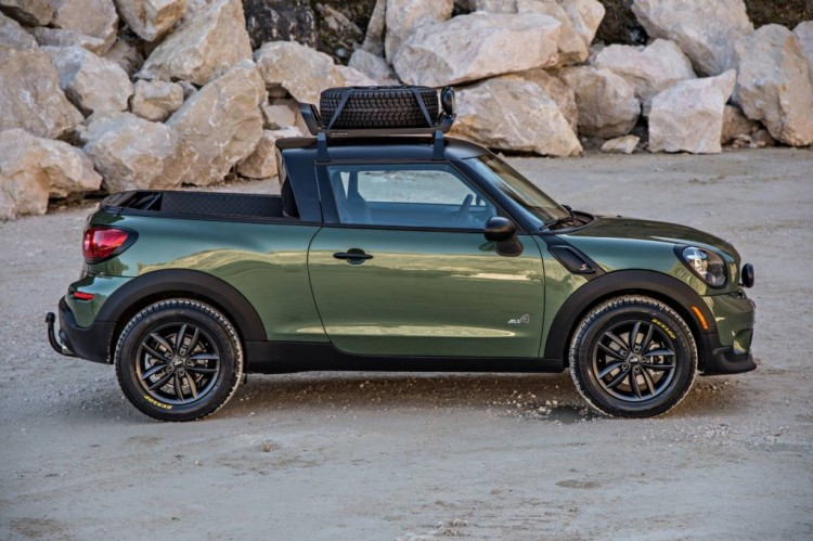 One-off MINI Paceman Adventure