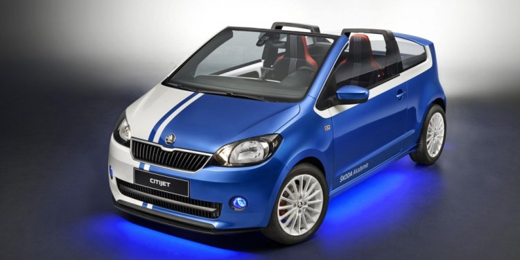Skoda CitiJet to be displayed at Worthersee