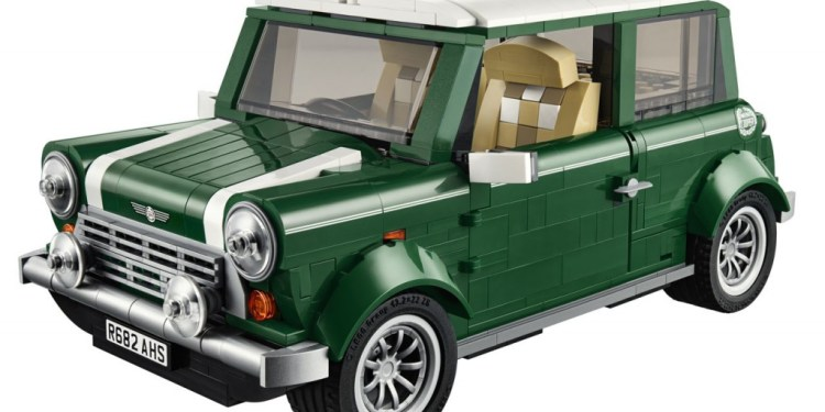 Lego Mini Cooper released in August