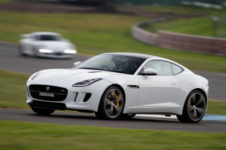 Jaguar F-Type at Sandown
