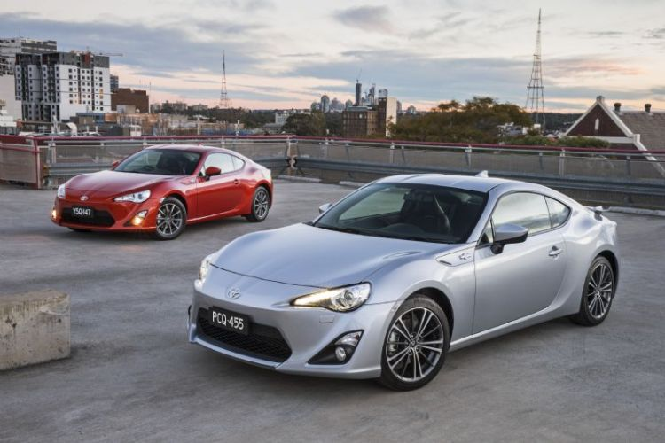 Toyota updates the 86