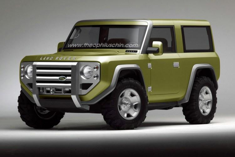 Land Rover Defender Concept - mock-up