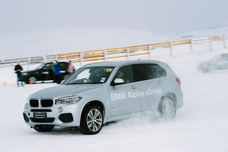BMW Alpine X-Drive Experience