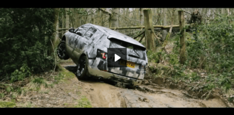 Discovery Sport off-roading