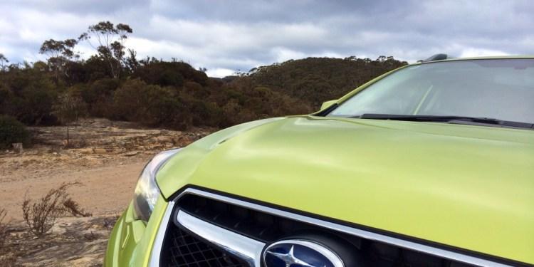2014 Subaru XV 2.0i-S – week 3