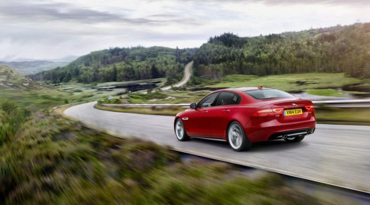 New Jaguar XE revealed