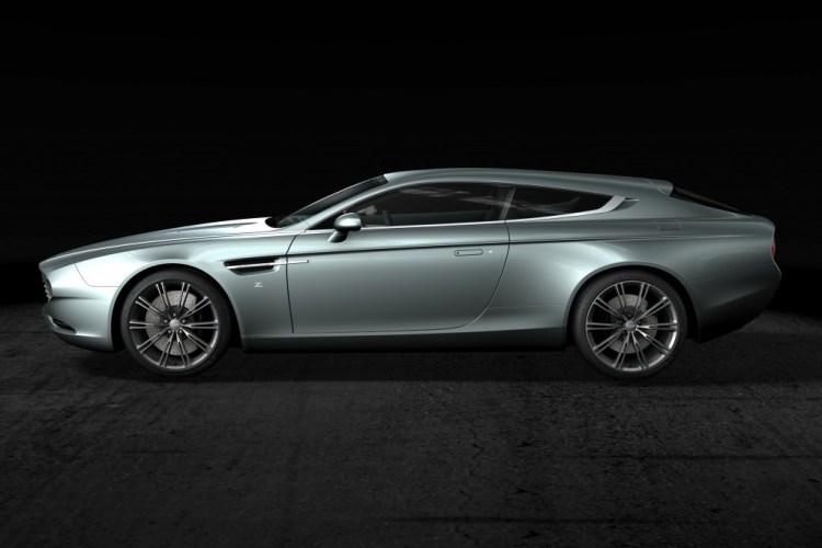 Aston Martin Virage Shooting Brake Zagato revealed in France
