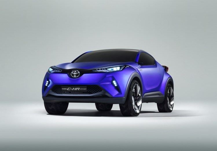 Official images of the Toyota C-HR leaked