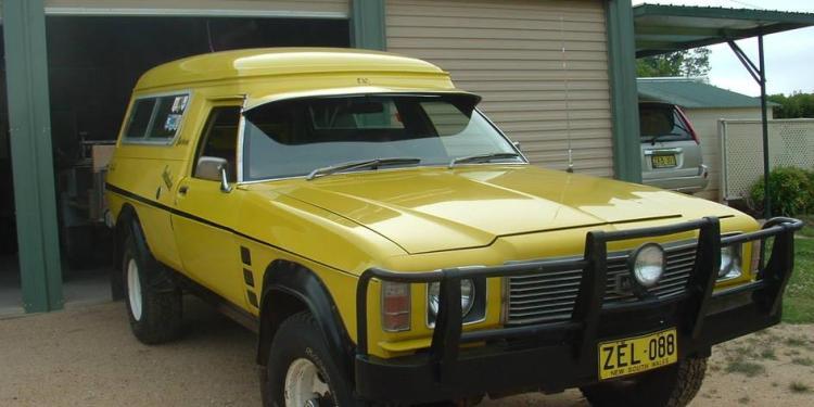 HZ Holden Snadman Overlander 4x4