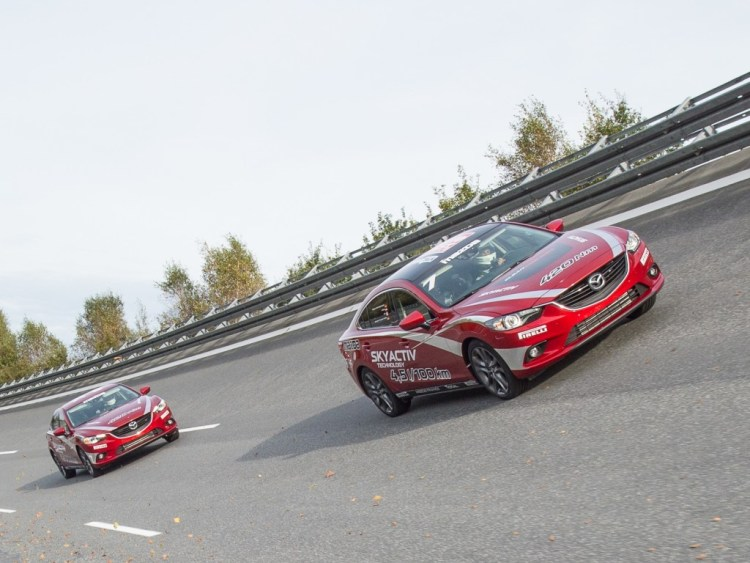 Mazda sets new diesel speed record