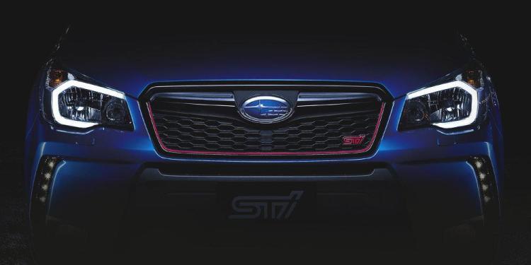 2015 Subaru Forester STi teased