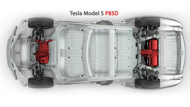 Tesla Model S P85D launched