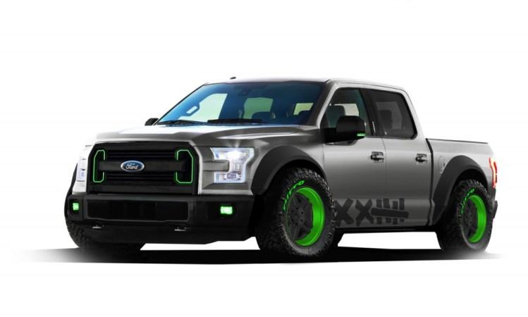 Ford reveals F-150 drift truck concept for SEMA