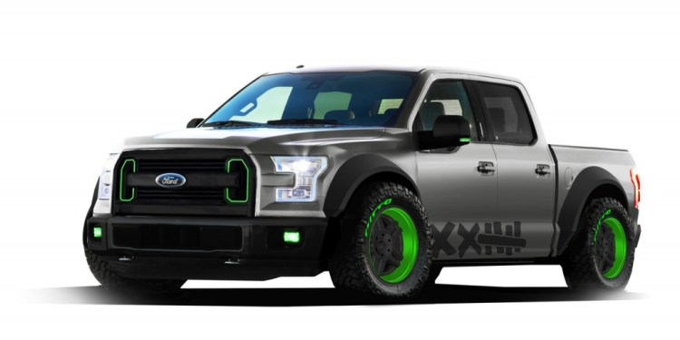 Ford reveals F-150 drift truck concept for SEMA