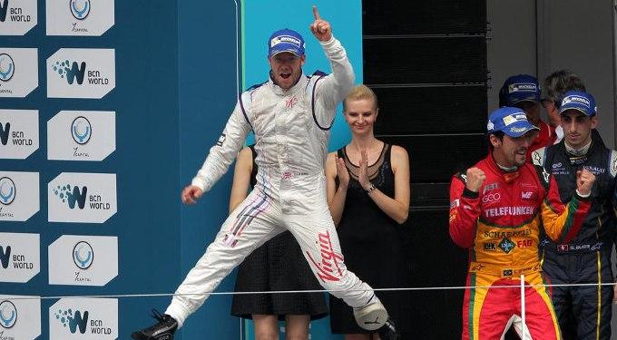Virgin Racing's Sam Bird dedicates Formula E win to Jules Bianchi