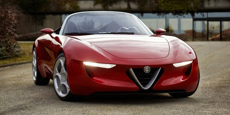 Alfa Romeo Spider based on an MX-5 no more... Abarth MX-5 version more likely