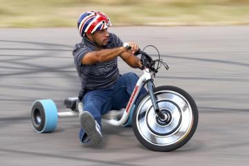 Get sideways with the Local Motors Verrado Drift Trike