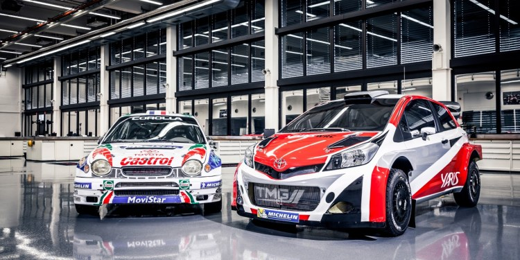 Toyota returns to WRC in 2017 with Yaris WRC