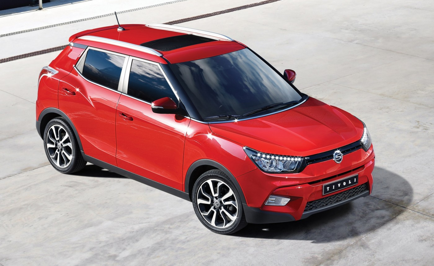 2015 ssangyong tivoli suv revealed practical motoring. Black Bedroom Furniture Sets. Home Design Ideas