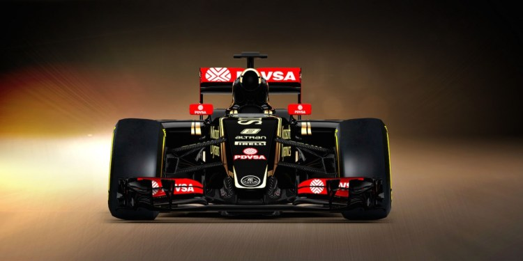 2015 Lotus E23 Hybrid F1 car revealed