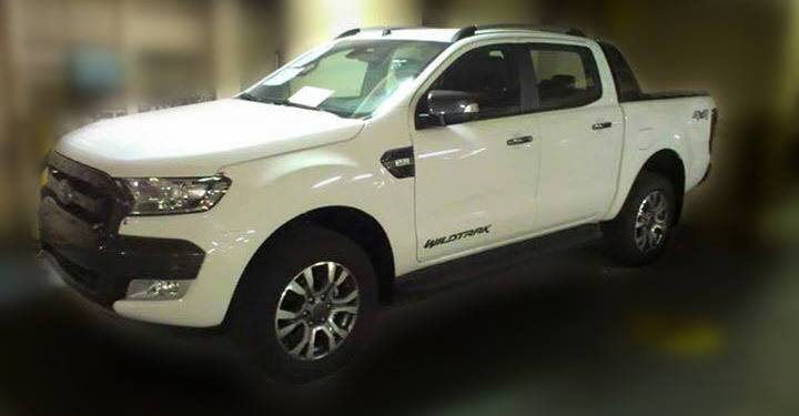 2015 ford ranger wildtrak spied again
