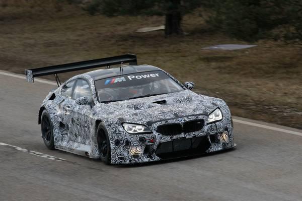 2016 BMW M6 GT3 revealed