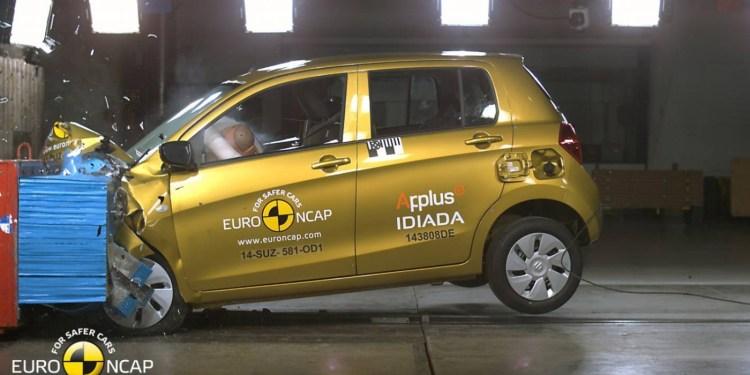 ANCAP gives Suzuki Celerio 4 stars, Hyundai Sonata gets 5