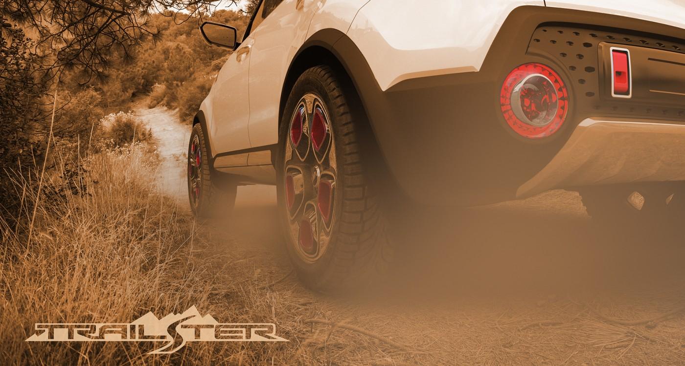 Kia Trailster e-AWD concept teased   Practical Motoring