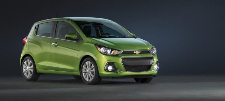 2016 Chevrolet Spark revealed