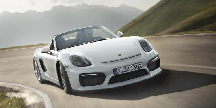 2015 Porsche Boxster Spyder revealed