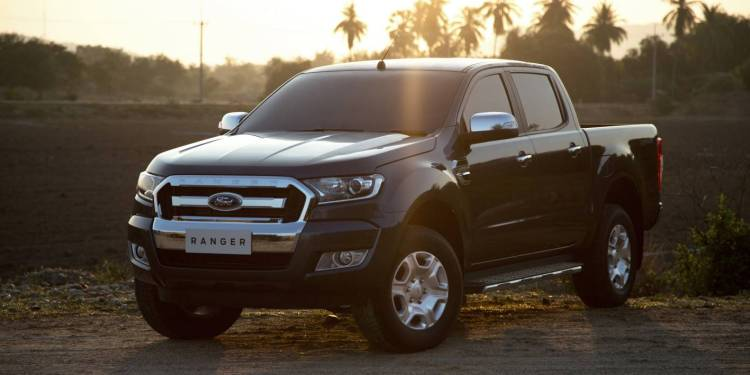 2015 Ford Ranger official photo