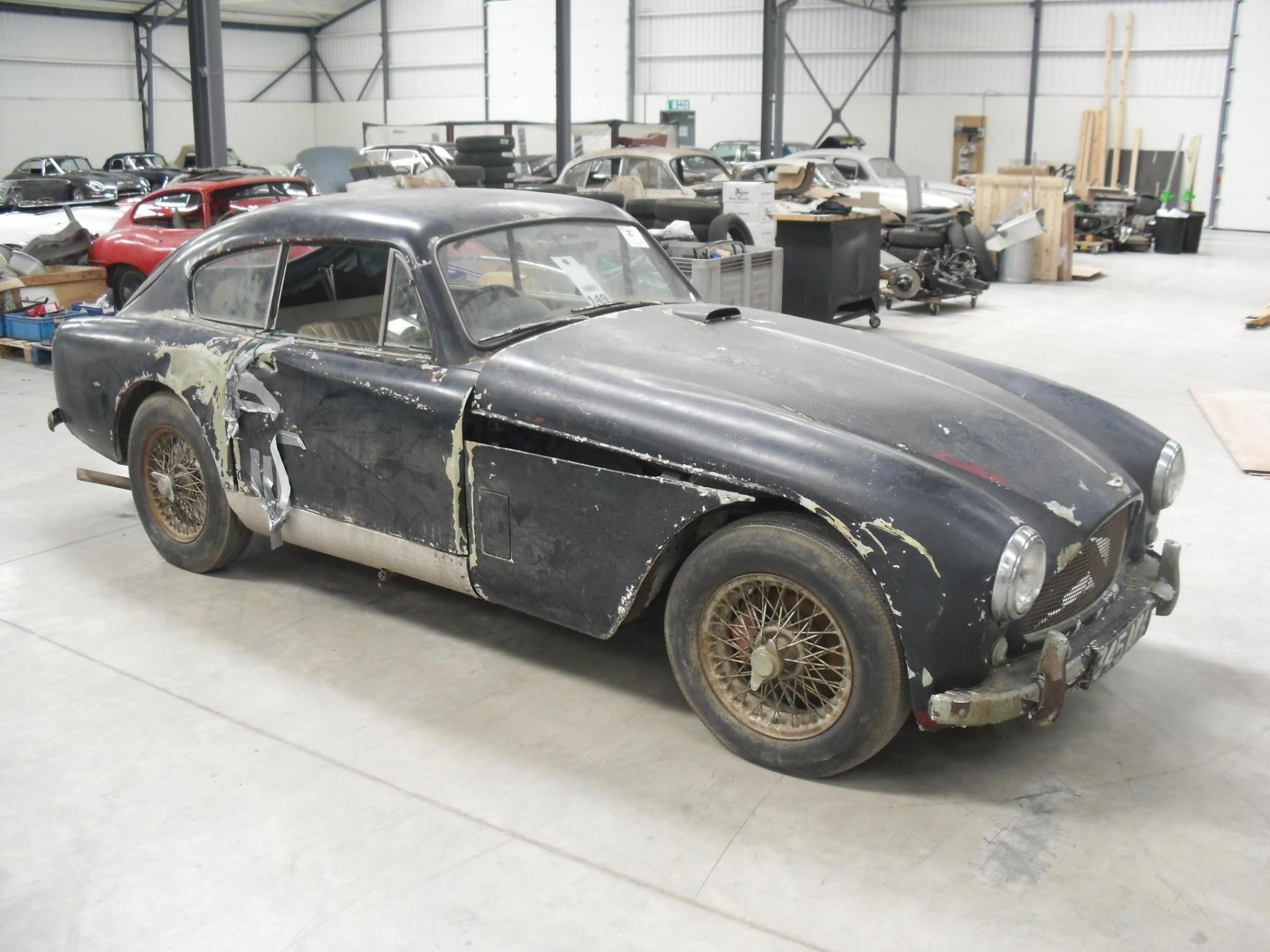 barn find 1958 aston martin db2/4 mark iii to begin restoration