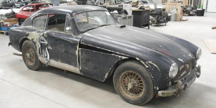 barn find Aston Martin DB2/4 to begin restoration