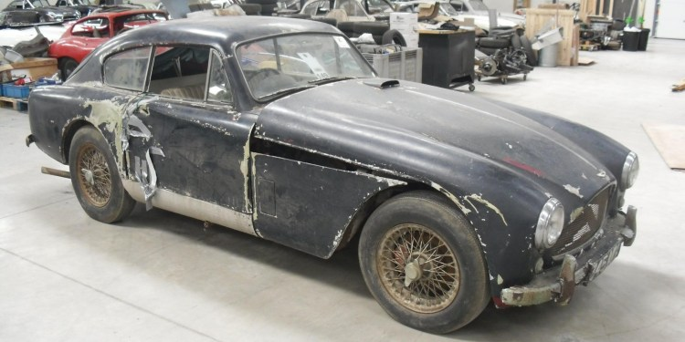 barn find Aston Martin DB2/4 to begin restoration