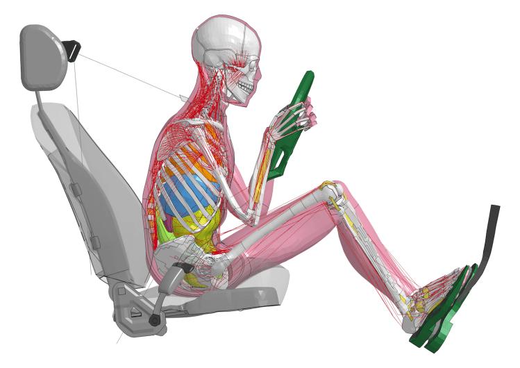 Toyota reveals virtual crash test dummies
