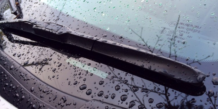 Don't neglect your windscreen wipers