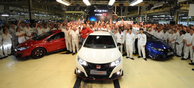 British-built Honda Civic Type R to sell in Japan