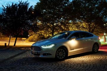 Ford reveals camera-based headlights