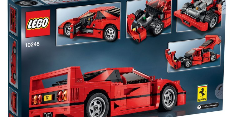 Lego Ferrari F40 revealed