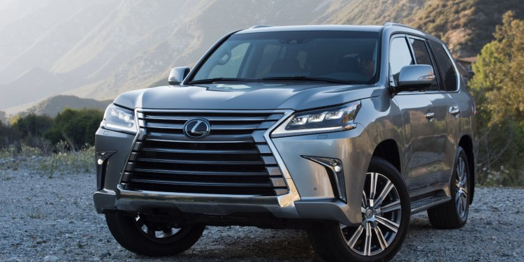 2016 Lexus LX 570 revealed