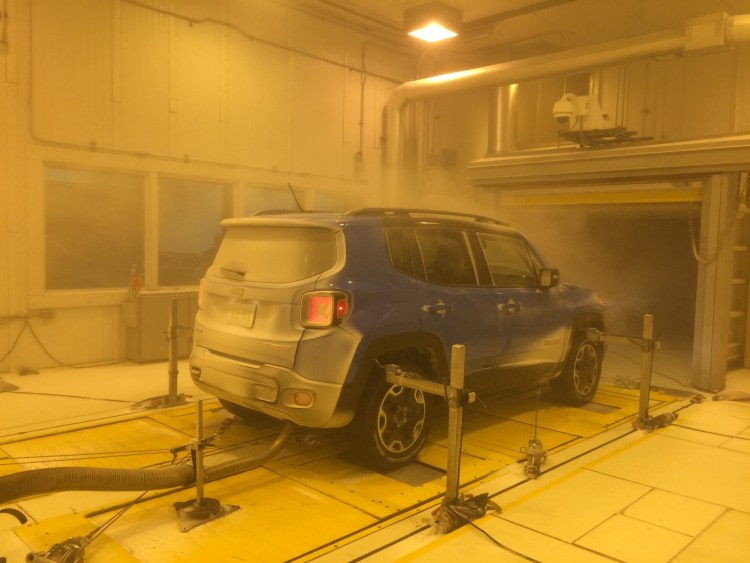 Jeep reveals upgrades to extreme weather testing facility