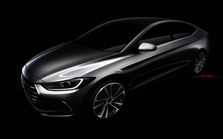 All-new 2016 Hyundai Elantra teased