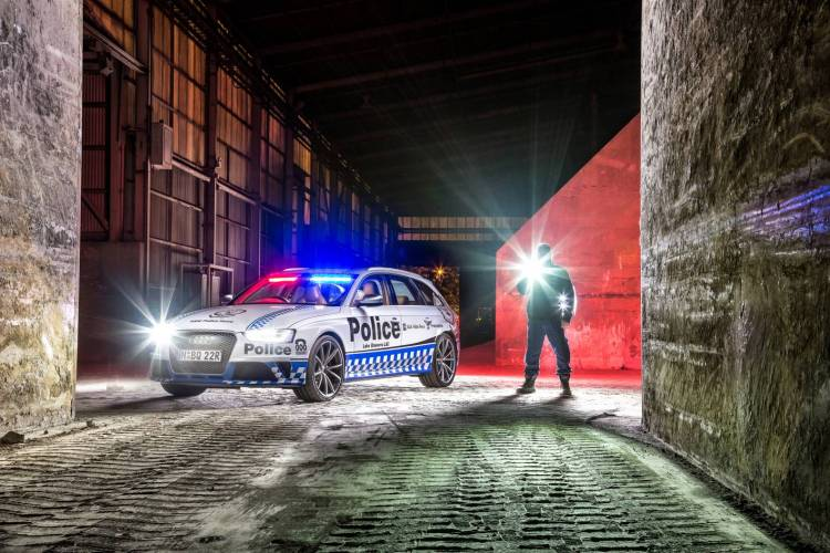 NSW Police given the keys to 331kW Audi RS 4