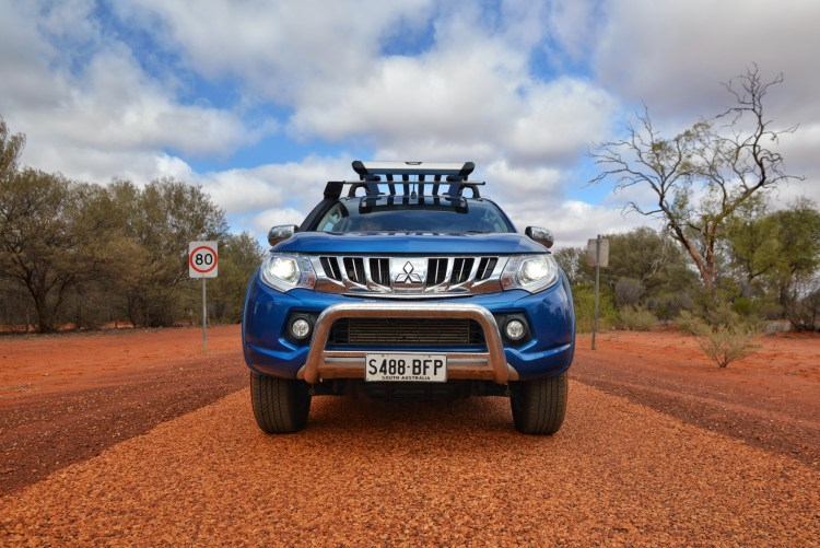 2015 Mitsubishi Triton to the Birdsville Races